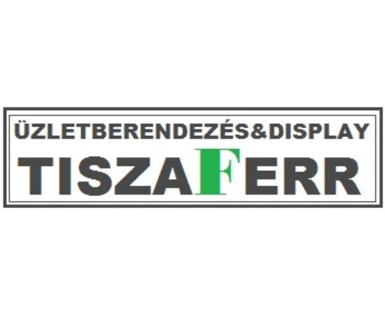 DESIGN TERMÉK KÍNÁLÓ ÜVEG ASZTAL 3 DB/ SZETT